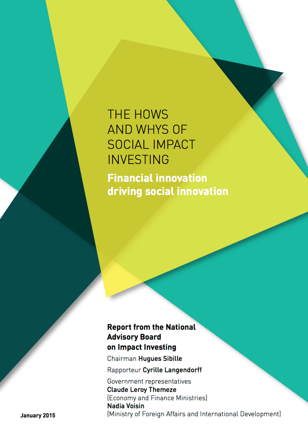 The Hows and Why of Social Impact Investing