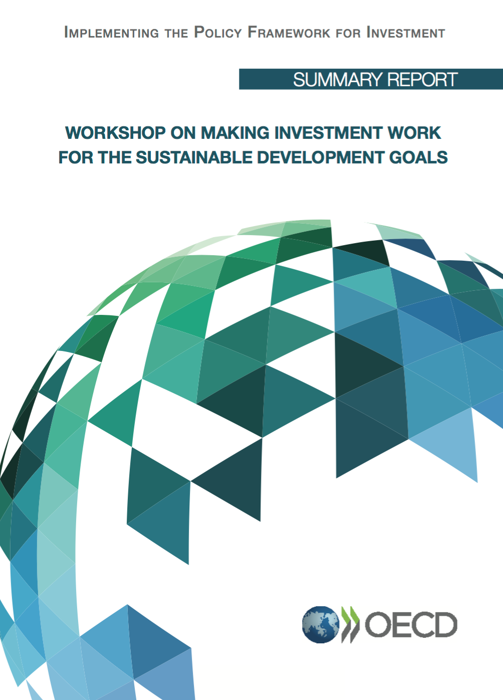 Workshop on making Investment work for the SDGs