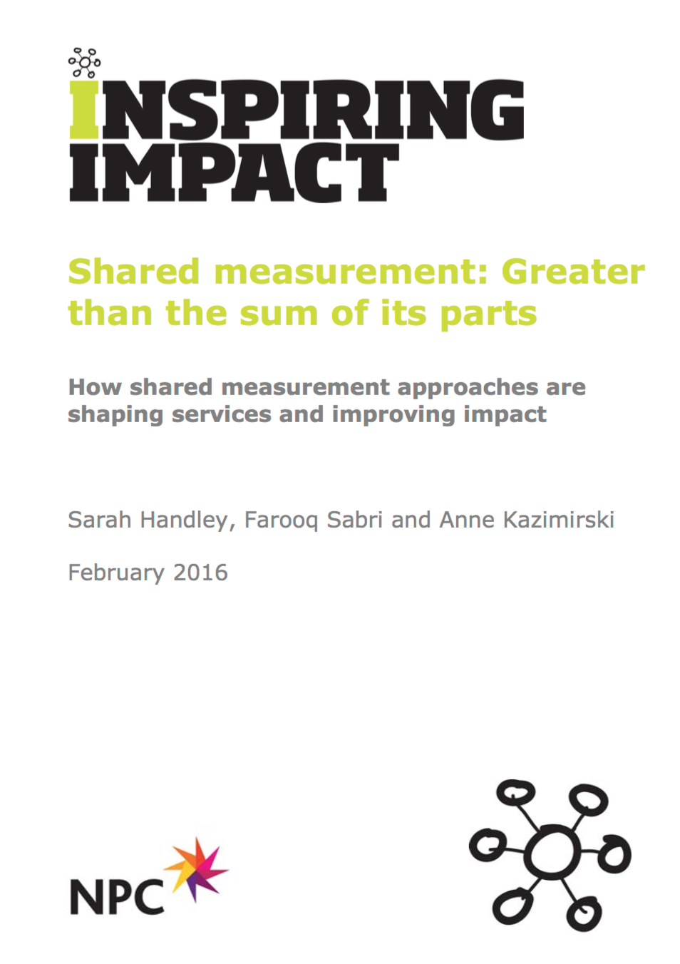 Shared Measurement: Greater than the Sum of its parts
