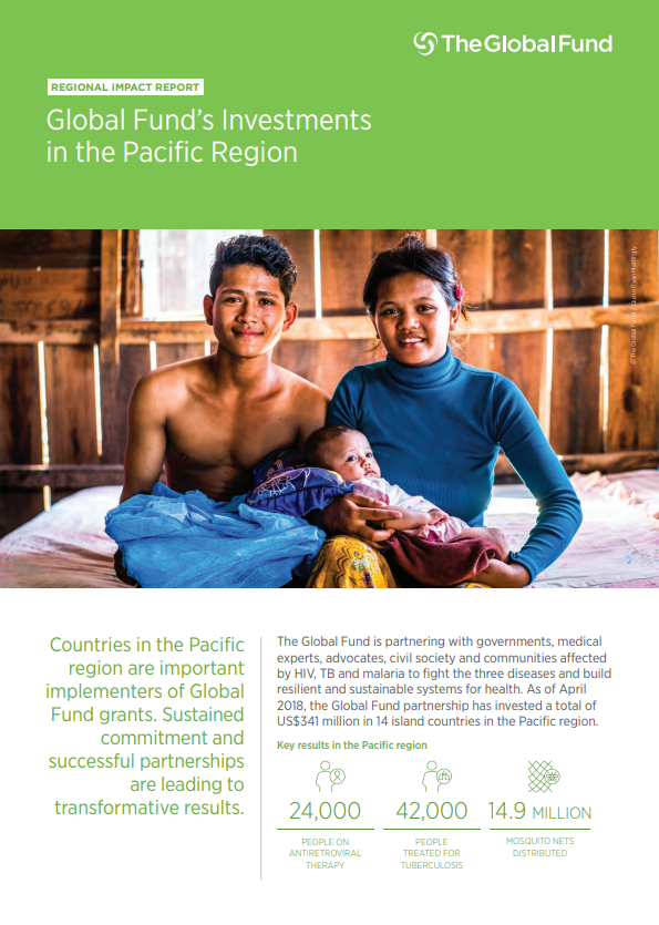 Global Fund's Investments in the Pacific Region