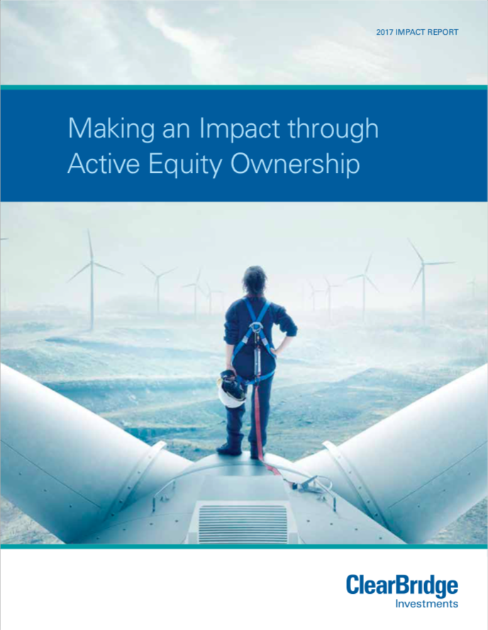 Making an Impact through Active Equity Ownership - Cover Page