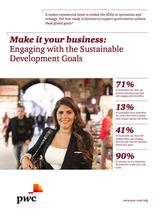 Make it your business - engaging with the SDGs