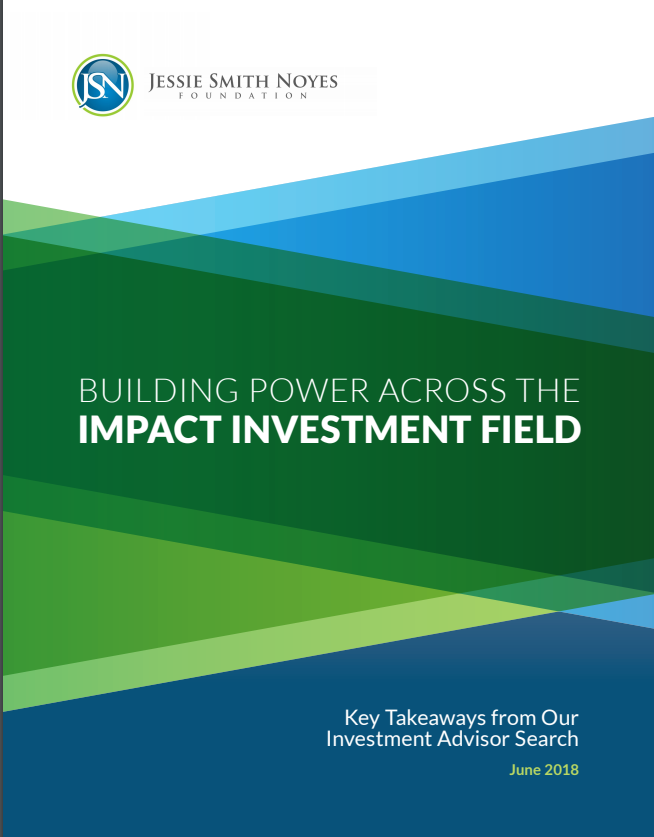 Building Power Across the Impact Investing Field